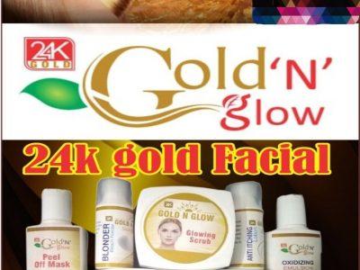 Gold 'N' glow 24k gold facial