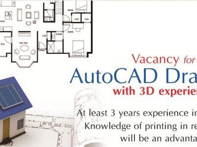 Autocad Draftsman Job in Narowal