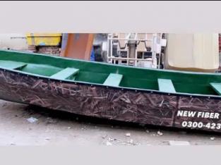 Fiber glasS duck hunting Boat