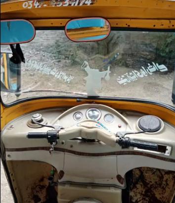 2018 – 4,000 km Rickshaw Tez Raftar for sale