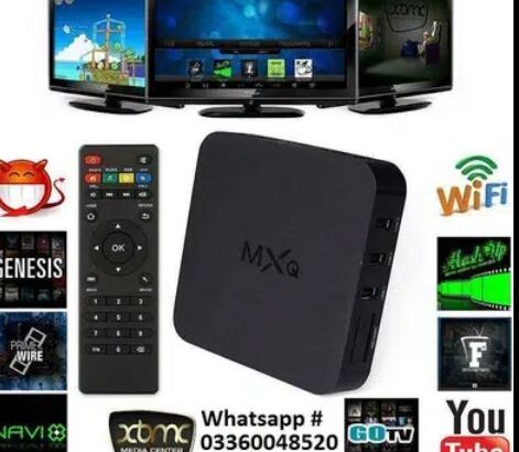 Android Smart tv Box & Air mouse available like MXQ,X96Q,T9 ,Mi tv Box