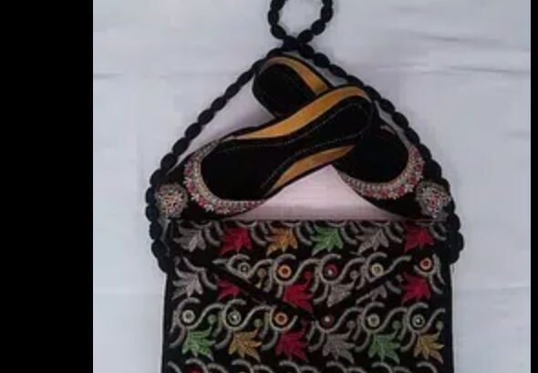 khussa and bag-BEST GIFT FOR EID