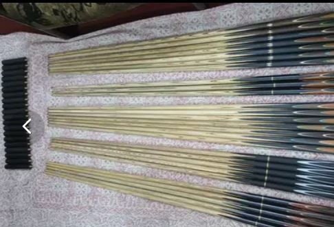 All snooker cues available at WHOLESALE PRICES