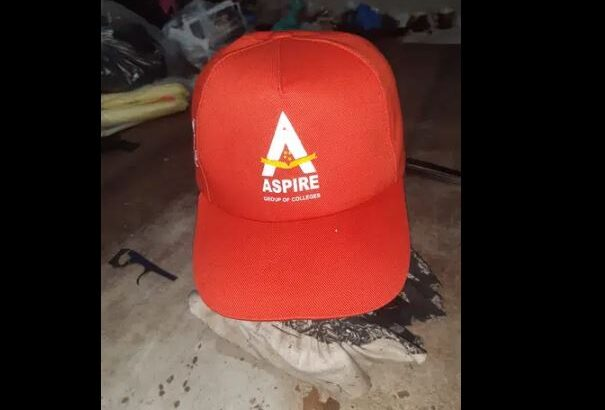 P Caps with your Company Logo and Name