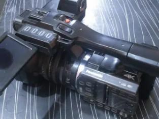 Panasonic HX1000 4k camera 10+