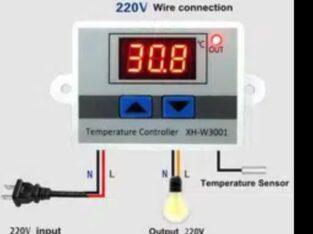 Sab Se Sasta. . W3001 Digital LED Temperature Controller 12v/10A Thermos