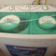 Twin semi automatic washing machine