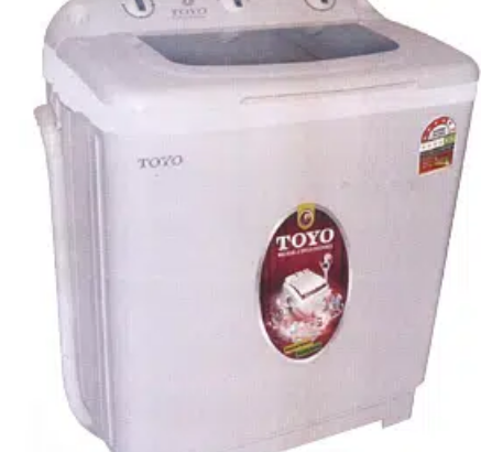 Toyo washing machine double pure copper motar warranty 5 years