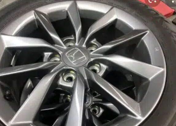 Zero Meter Tyres Of Honda Civic 215/55/16 Only Tyres