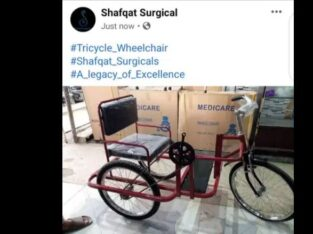 Tricycle for handicaps wheelchair for Donation