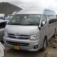 Toyota Hiace Grand Cabin and Coaster For Rent