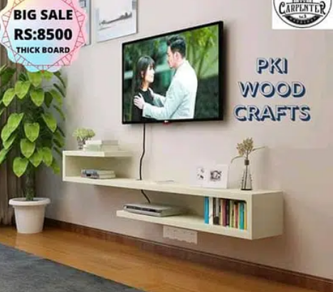 LED TV Console/Media Wall Unit/LCD Racks Tv Wall UnitS for sale in khrachi