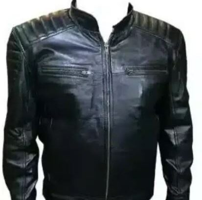 LEATHER JACKET ( Real leather )