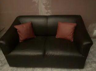 complete sofa set. 2 Seater, 3 seater, 2 single seats.