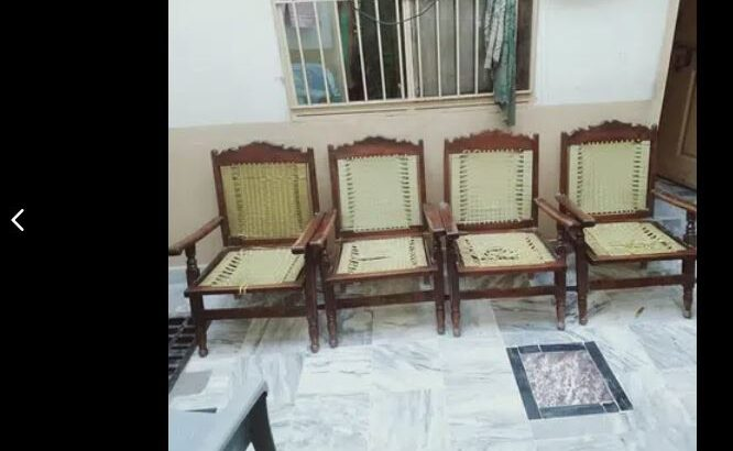 4. Wooden Cairs. Old is Gold. Rs 2500