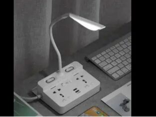 Supreme Quality Power Extension With Lamp and Charging Ports
