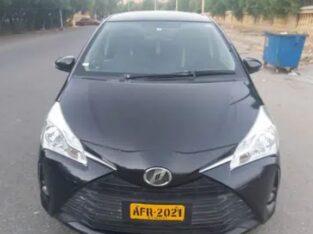 Toyota Vitz Fully Loaded 2017 import 2021 Unregistered Like New Dha 7