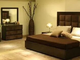 Pure wooden Tufted Bed set king size complete bedroom furniture/dining