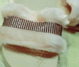 fur slippers for women