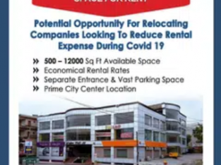 500-12000 Square Feet Software House & Call Center Space For Rent