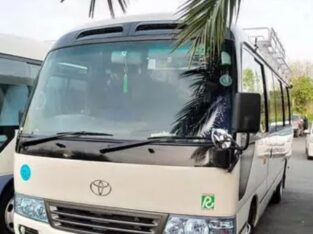 HIACE AND COASTER FOR RENT