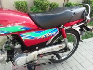 Honda CD 70, 2017 – B, For Sale In Lahore