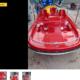 Fiberglass pedal boat