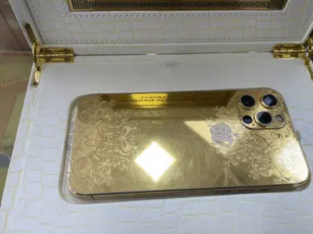 iPhone 12 Pro Max 24k Gold Plated 512 GB