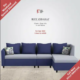 Causal living 6seater sofa L shape For Sale In Karachi