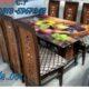 Shesham Wood Dining Table Sets. .