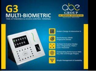 Multi-biometric Time Attendance Machine (Green Lable)