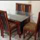 Dining Set in Six Chairs (Tali) Pure Shesham