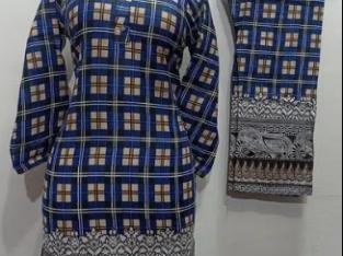 Lawn 2pcs suit kurti trouser