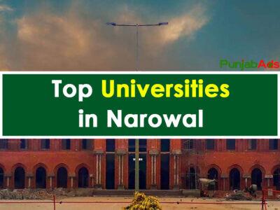 Top Universities in Narowal