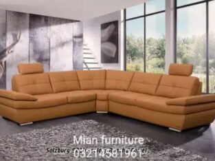 New arrival Corner Sofa in brown rexion B 13 for sale in lahore