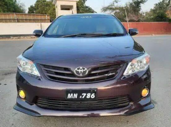 Toyota corolla Gli 12 for sale in multan
