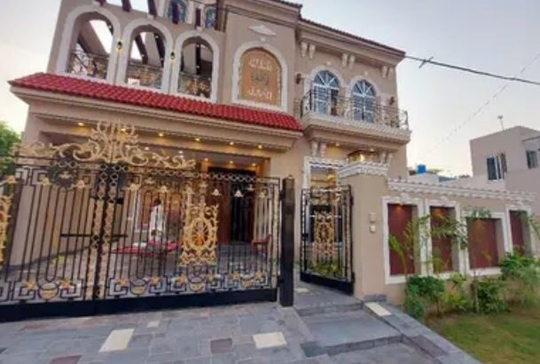 10 Marla brand new Spanish house for sale in lahore