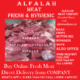 ALFALAH MEAT offer ONLINE HOME DELIVERY OF MUTTON CHICKEN & BEEF