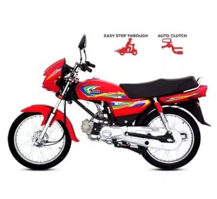 United 100CC Automatic Clutchless Motorcycle for sale in karachi