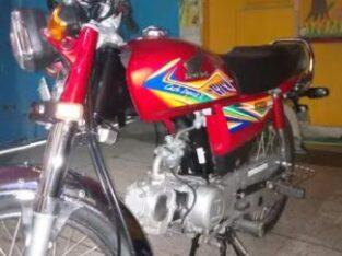 Honda CD 70 bike for sale in lahore