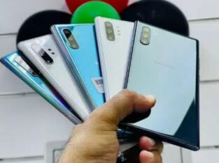 Sumsung galaxy note 10plus for sale in lahore