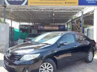 Toyota Corolla Gli 2012 for sale in lahore