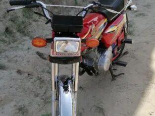 Honda 125 19 B red colour for sale in kasur