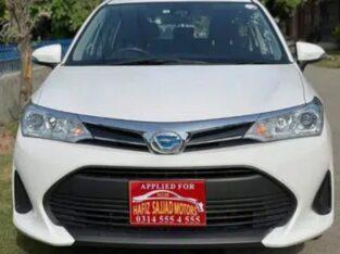 Toyota Axio Fielder Hatchback for sale
