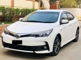 Toyota Corolla Altis 1.6 available For Rent