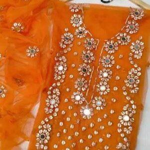 ladies chiffon branded 2piece suit for sale