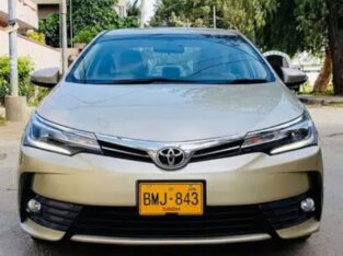 Toyota corolla altis 2018 grande without sunroof